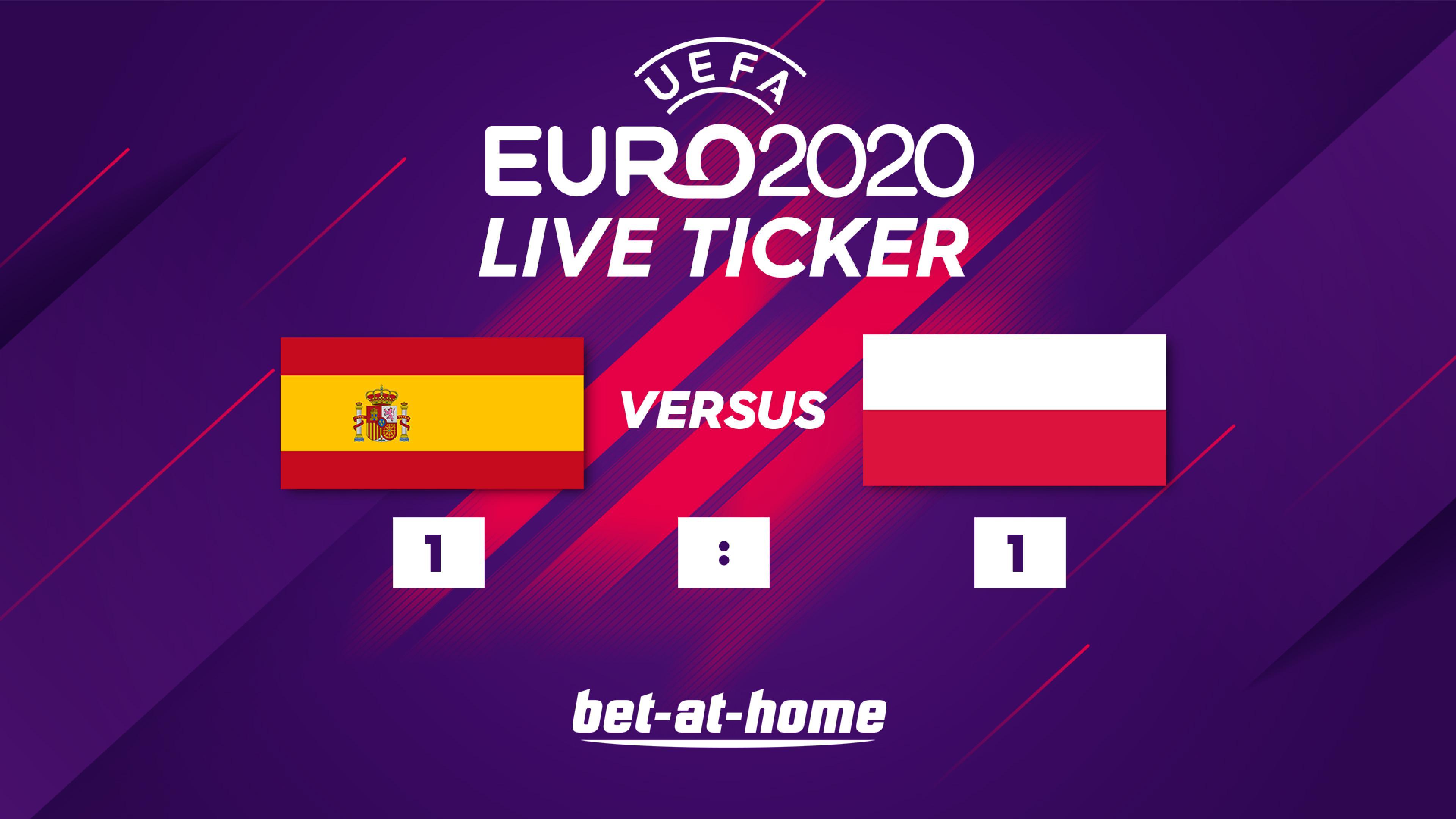 Spanien - Polen 1:1
