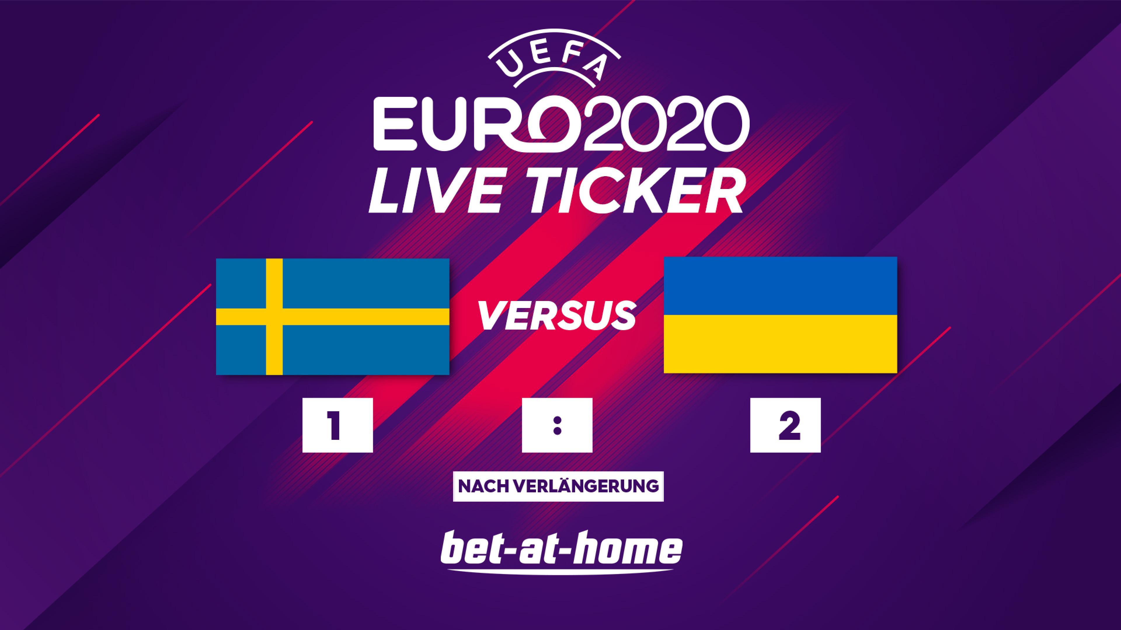 Schweden - Ukraine 28.06.2021