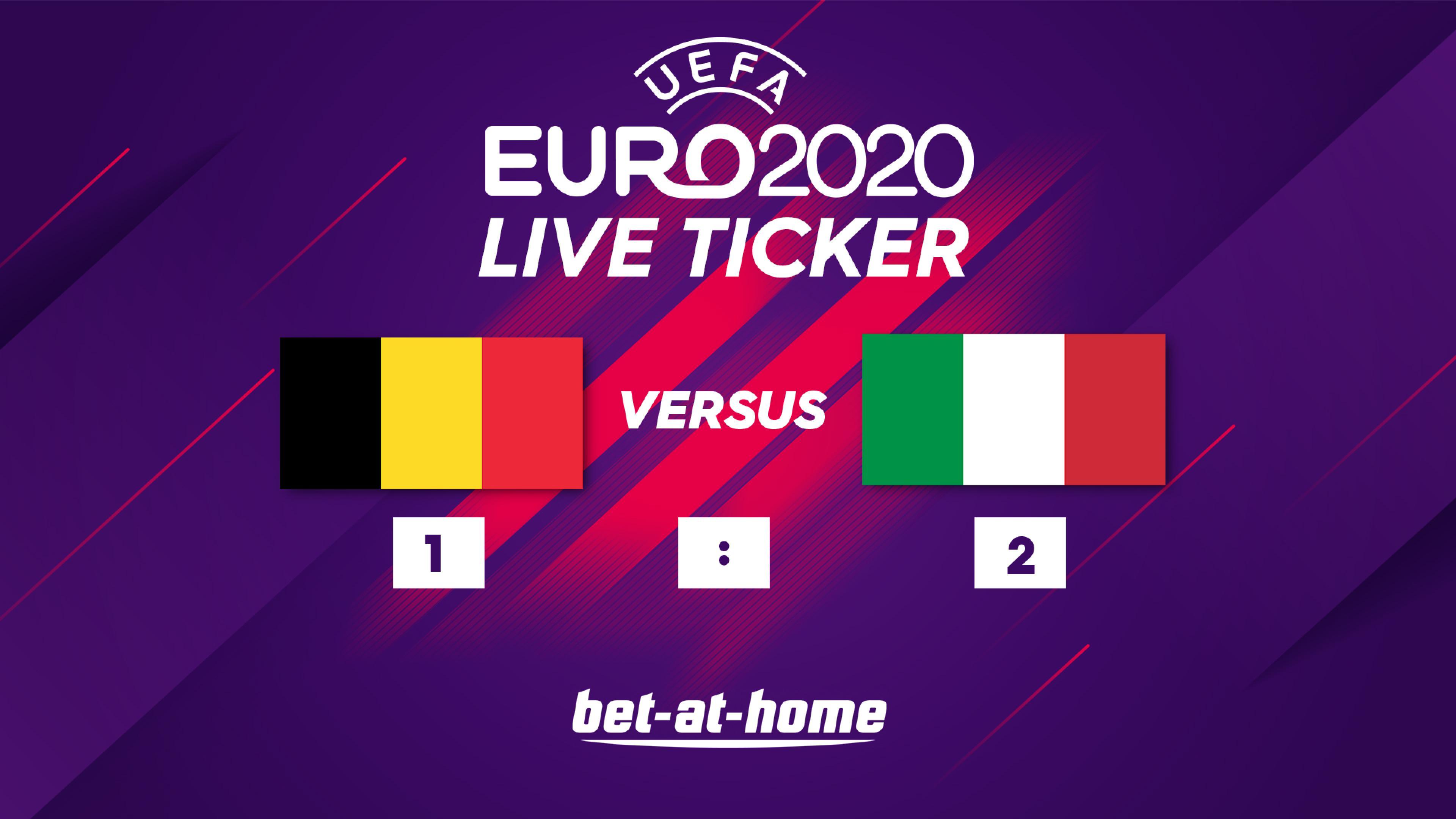Belgien - Italien 02.07.2021