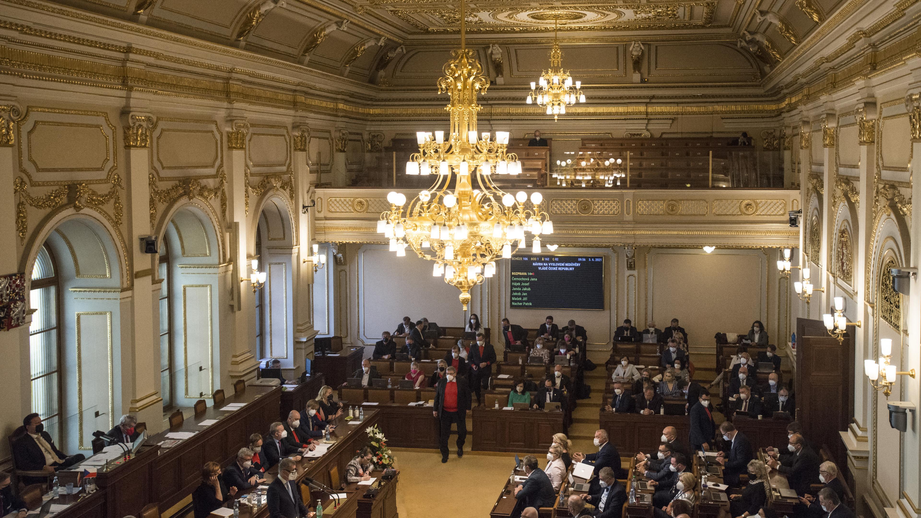 Tschechien Parlament
