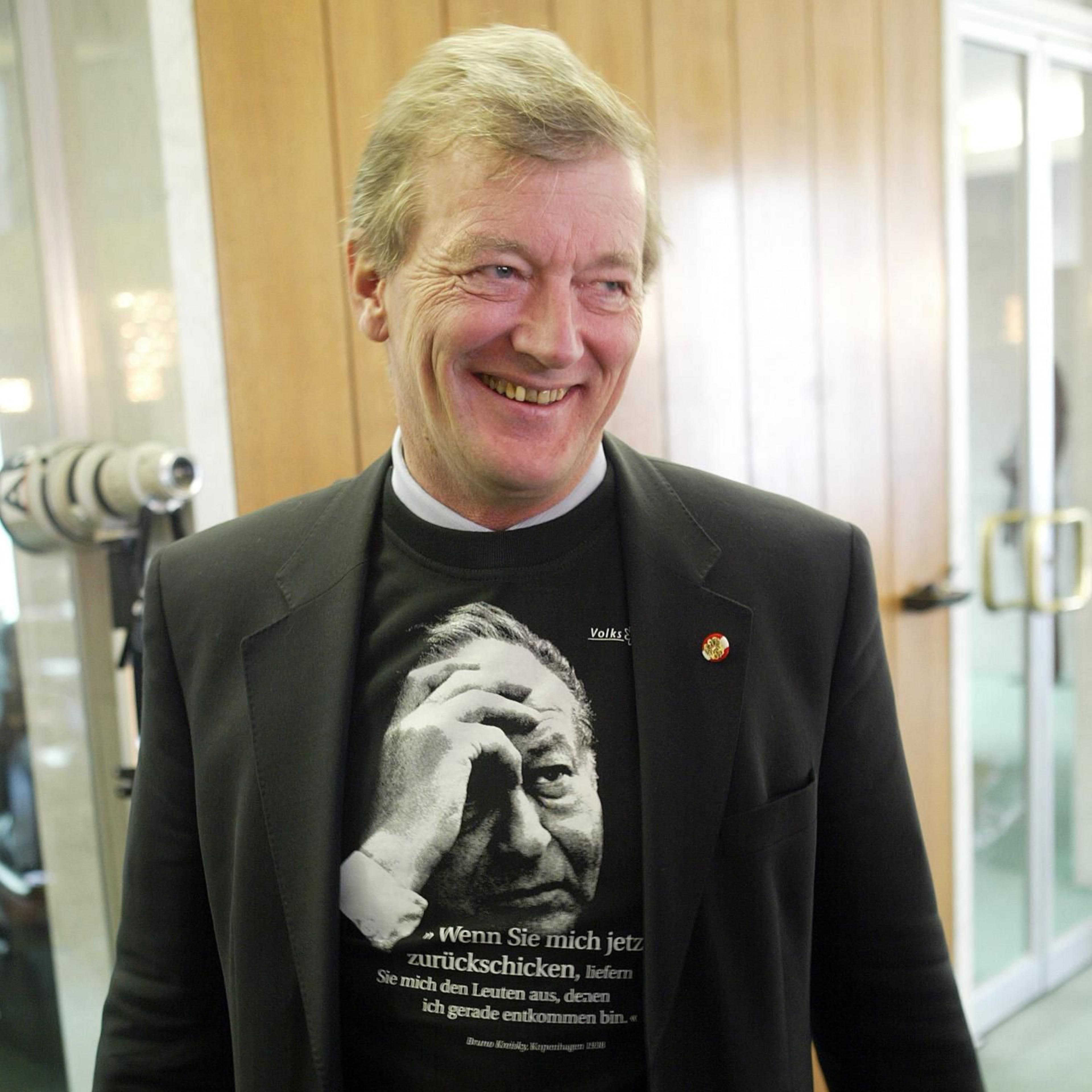 Ex-Innenminister Caspar Einem (SPÖ)